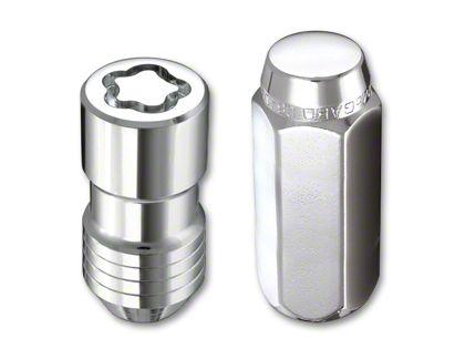 McGard Chrome 6-Lug Wheel Installation Lug Nut Kit - 14mm x 1.5 (07-18 Sierra 1500)