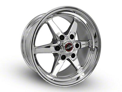 Race Star 93 Truck Star Chrome 6-Lug Wheel - 15x10 (07-18 Sierra 1500)