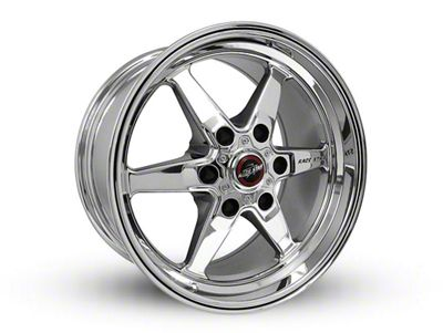 Race Star 93 Truck Star Chrome 6-Lug Wheel - 17x9.5 (07-18 Sierra 1500)