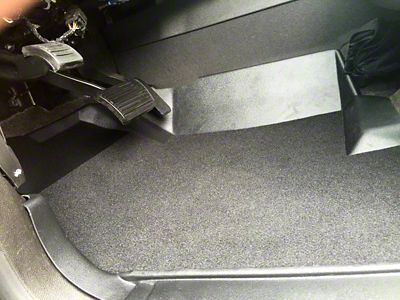 Weatherboots Classic Front Floor Liners - Black (07-13 Sierra 1500 Extended Cab, Crew Cab)