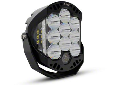 Baja Designs 8 in. LP9 Racer Edition Round LED Light - Spot Beam