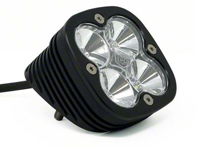 Baja Designs Squadron Sport Angled Flush Mount LED Light - Flood Beam
