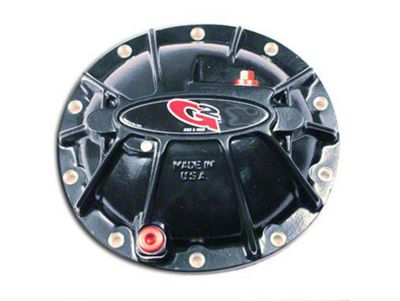 G2 Gloss Black Hammer Differential Cover - 8.5/8.6 in. (07-13 Sierra 1500)