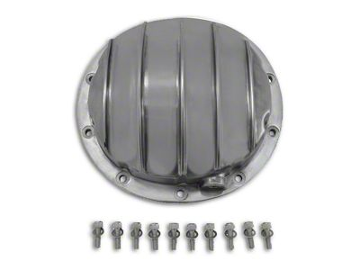 Yukon Gear Finned Polished Aluminum Differential Cover - 8.5 in. & 8.6 in. (07-13 Sierra 1500)