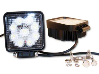 Delta 4.5 in. High Output Round LED Light - Flood Beam