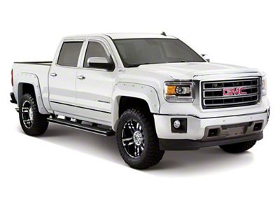 Bushwacker Boss Pocket Style Fender Flares - Pre-Painted (14-15 Sierra 1500)