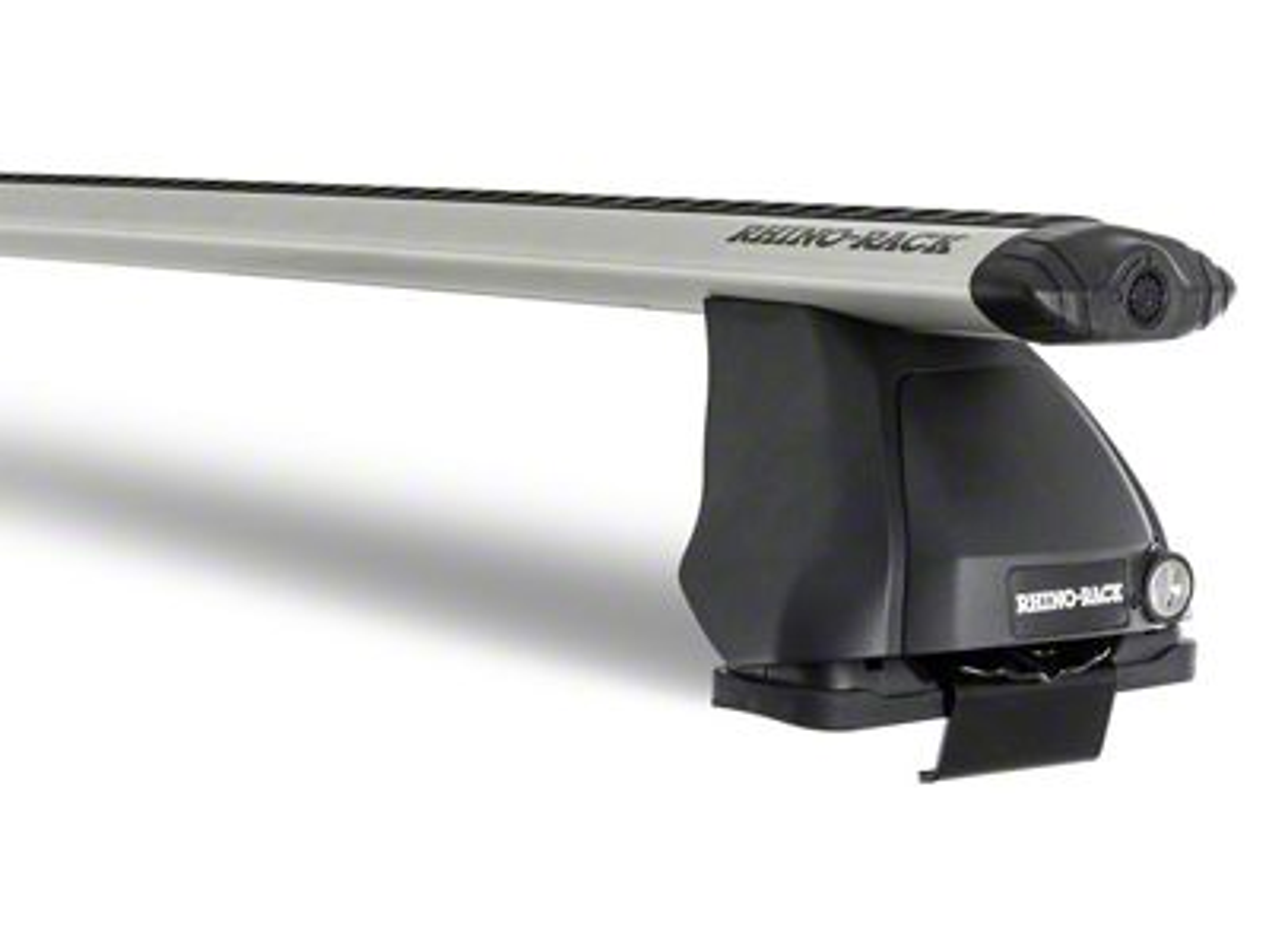 Rhino-Rack Vortex 2500 Front 1-Bar Roof Rack - Silver (14-18 Sierra 1500 Double Cab, Crew Cab)