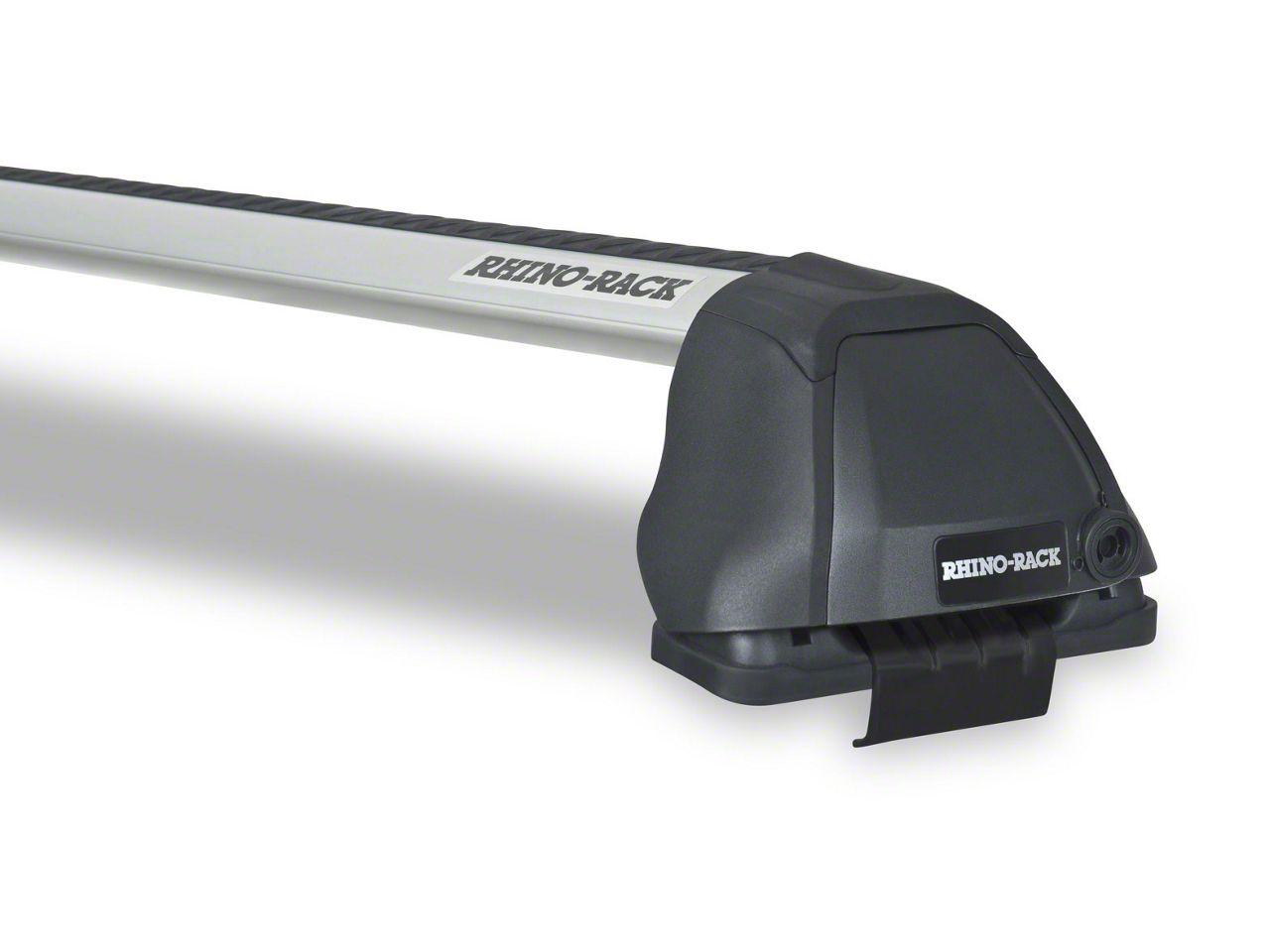 Rhino-Rack Vortex 2500 RS 2-Bar Roof Rack - Silver (07-13 Sierra 1500 Crew Cab)