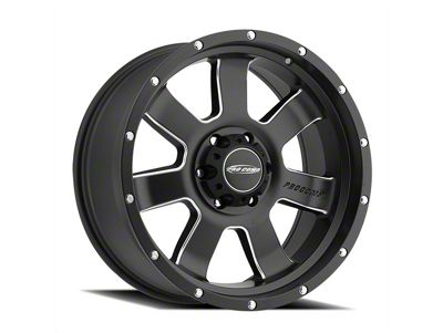 Pro Comp Inertia Satin Black Milled 6-Lug Wheel - 17x9 (07-18 Sierra 1500)