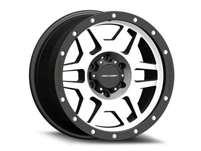 Pro Comp Phaser Machined 6-Lug Wheel - 17x9 (07-18 Sierra 1500)