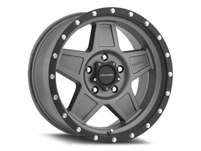 Pro Comp Wheels Predator Matte Graphite 6-Lug Wheel - 17x8.5 (07-19 Sierra 1500)