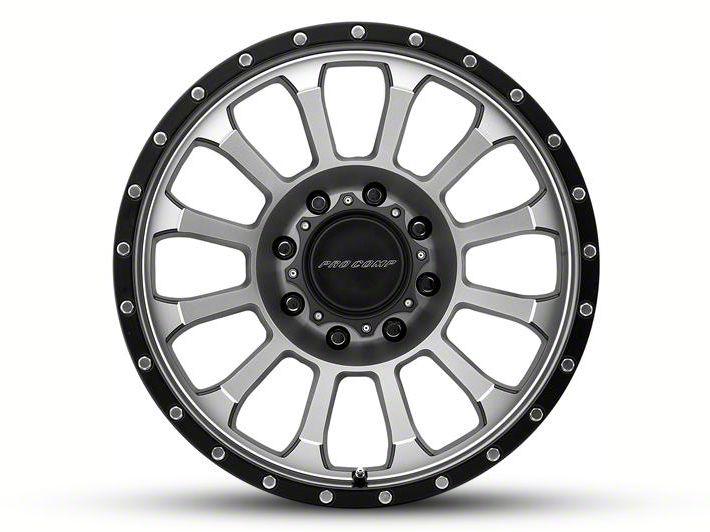 Pro Comp Rockwell Machined 6-Lug Wheel - 20x9 (07-18 Sierra 1500)