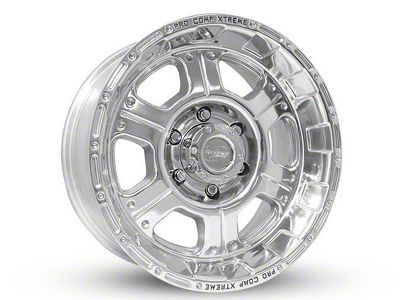 Pro Comp Series 1089 Polished 6-Lug Wheel - 17x9 (07-18 Sierra 1500)