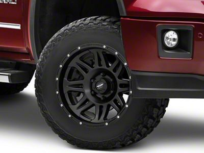 Pro Comp Series 7005 Matte Black 6-Lug Wheel - 17x9 (07-18 Sierra 1500)