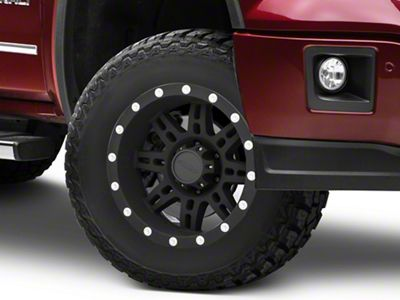 Pro Comp Series 7031 Matte Black 6-Lug Wheel - 17x9 (07-18 Sierra 1500)