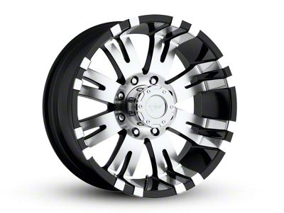 Pro Comp Series 8101 Gloss Black Machined 6-Lug Wheel - 18x9.5 (07-18 Sierra 1500)