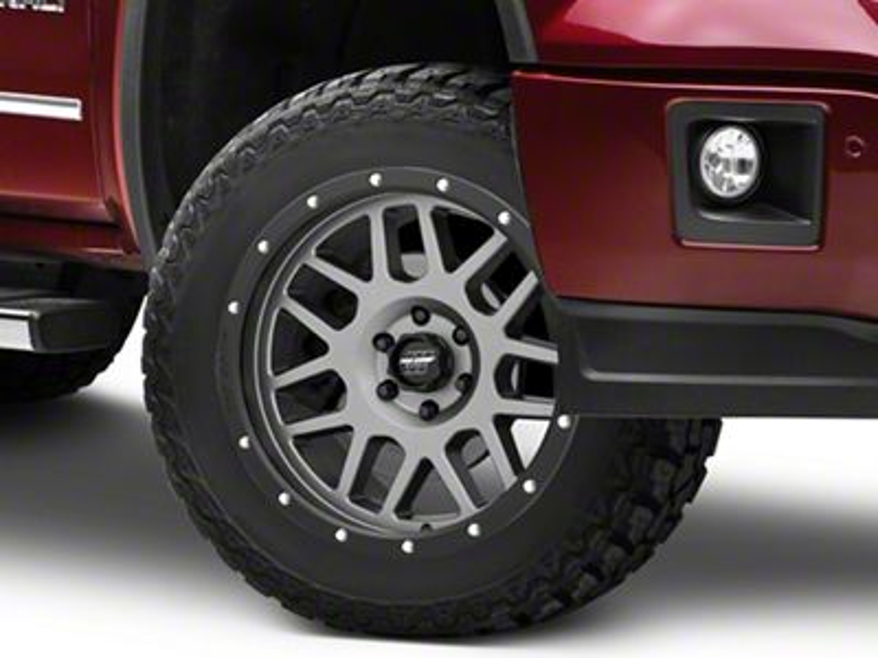 Pro Comp Vertigo Matte Graphite 6-Lug Wheel - 20x9 (07-18 Sierra 1500)
