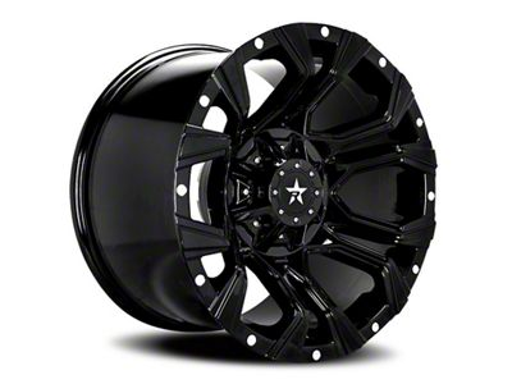 RBP 64R Widow Full Black 6-Lug Wheel - 20x12 (07-18 Sierra 1500)