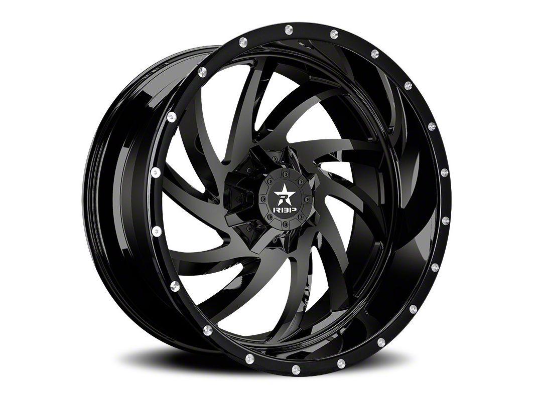 RBP 66R HK-5 Gloss Black 6-Lug Wheel - 20x12 (07-18 Sierra 1500)