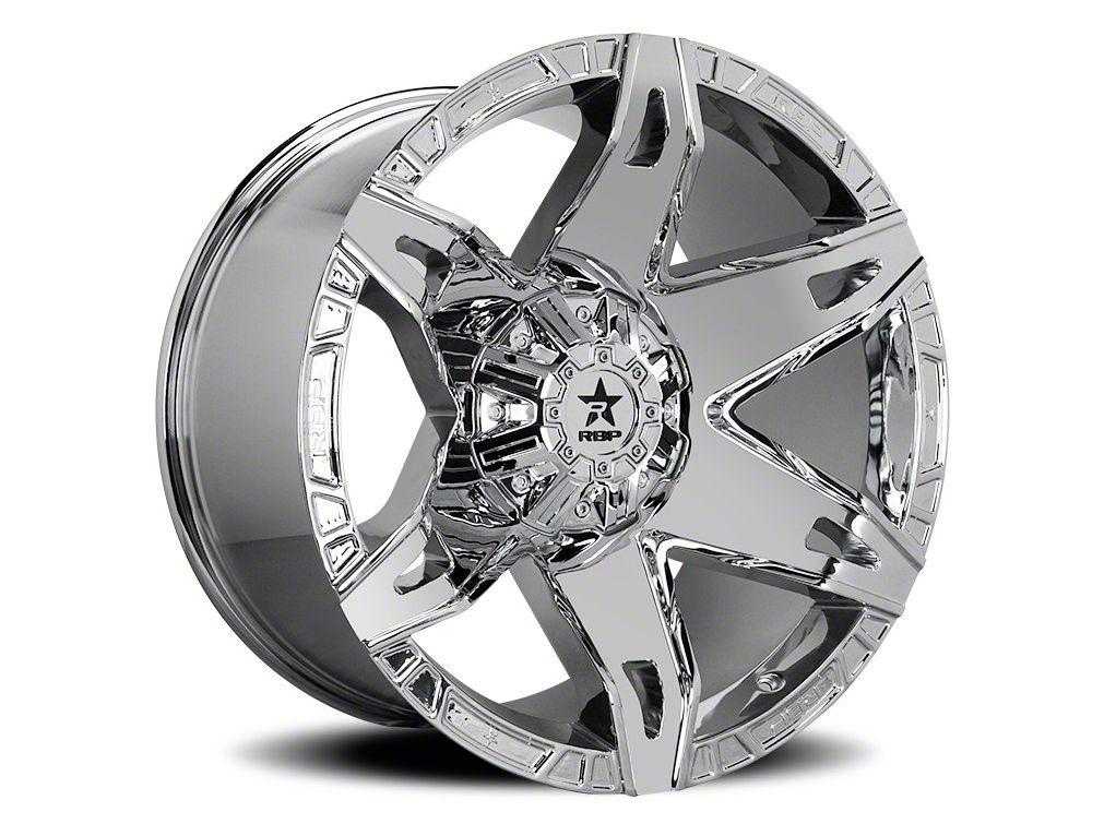 RBP 70R Quantum Chrome 6-Lug Wheel - 20x12 (07-18 Sierra 1500)