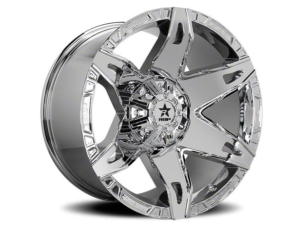 RBP 70R Quantum Chrome 6-Lug Wheel - 22x12 (07-18 Sierra 1500)