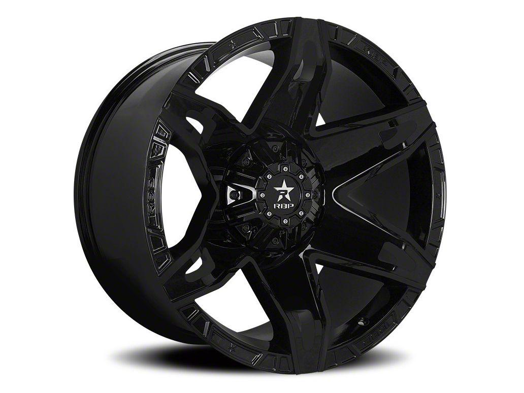 RBP 70R Quantum Gloss Black 6-Lug Wheel - 20x12 (07-18 Sierra 1500)
