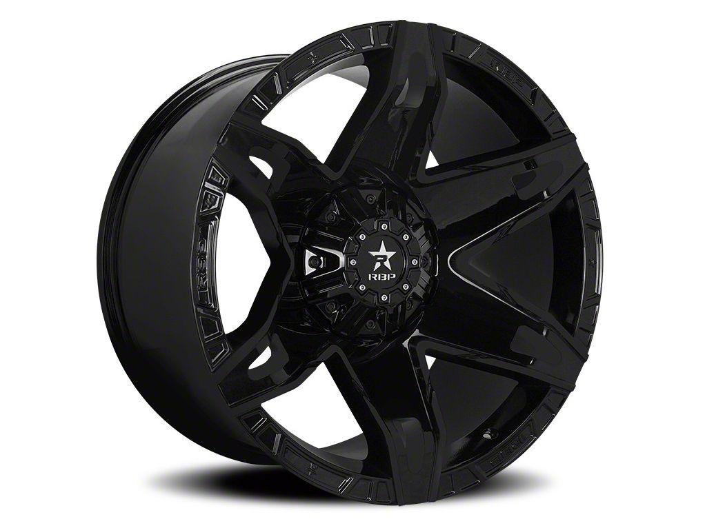 RBP 70R Quantum Gloss Black 6-Lug Wheel - 22x12 (07-18 Sierra 1500)