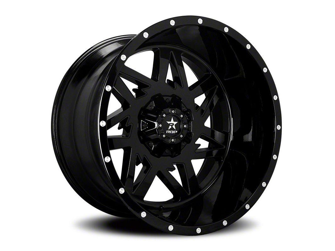 RBP 71R Avenger Gloss Black 6-Lug Wheel - 24x14 (07-18 Sierra 1500)