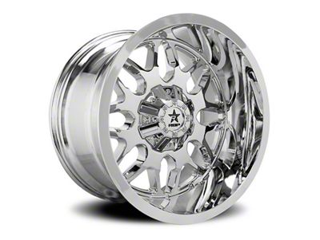 RBP 73R Atomic Chrome 6-Lug Wheel - 20x12 (07-18 Sierra 1500)