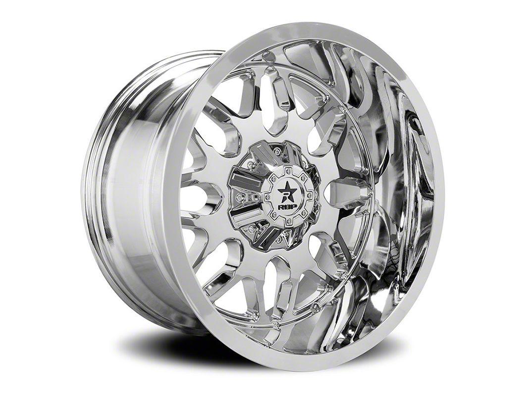 RBP 73R Atomic Chrome 6-Lug Wheel - 24x14 (07-18 Sierra 1500)