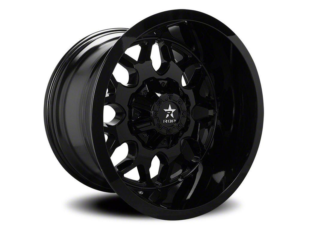 RBP 73R Atomic Gloss Black 6-Lug Wheel - 22x12 (07-18 Sierra 1500)