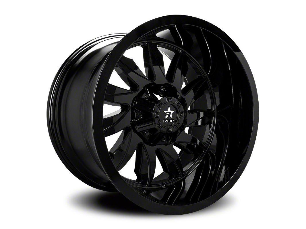 RBP 74R Silencer Gloss Black 6-Lug Wheel - 20x12 (07-18 Sierra 1500)