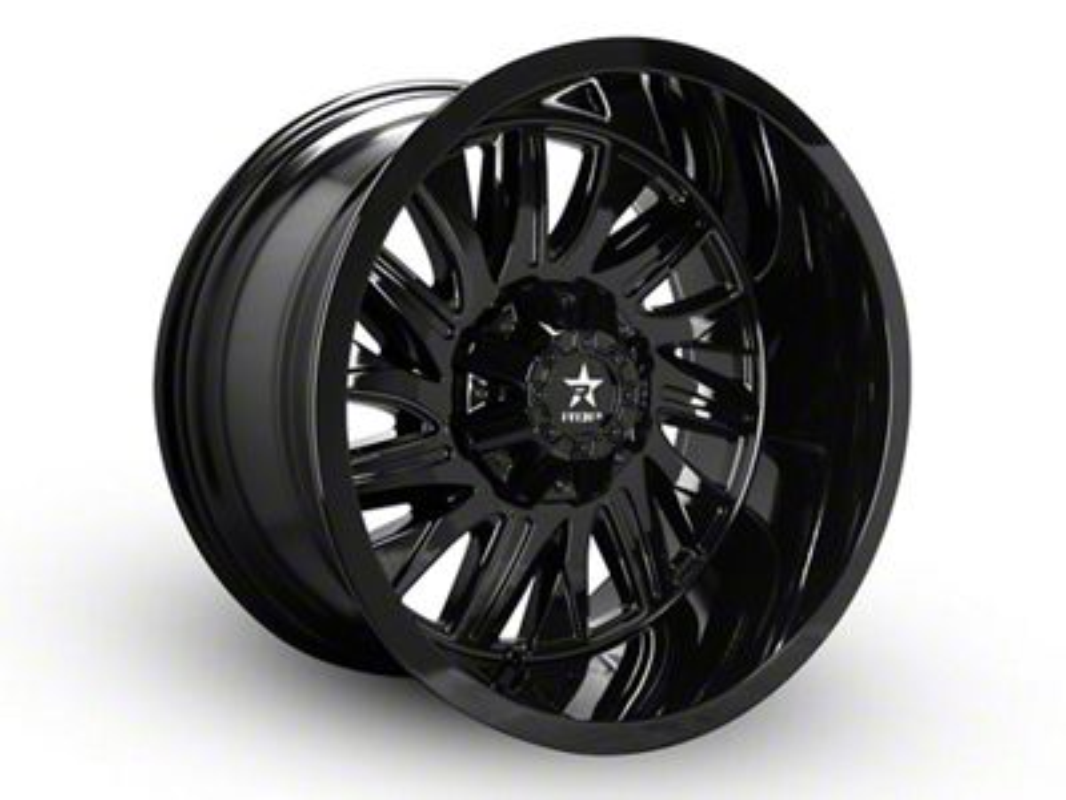 RBP 75R Batallion Gloss Black 6-Lug Wheel - 20x12 (07-18 Sierra 1500)