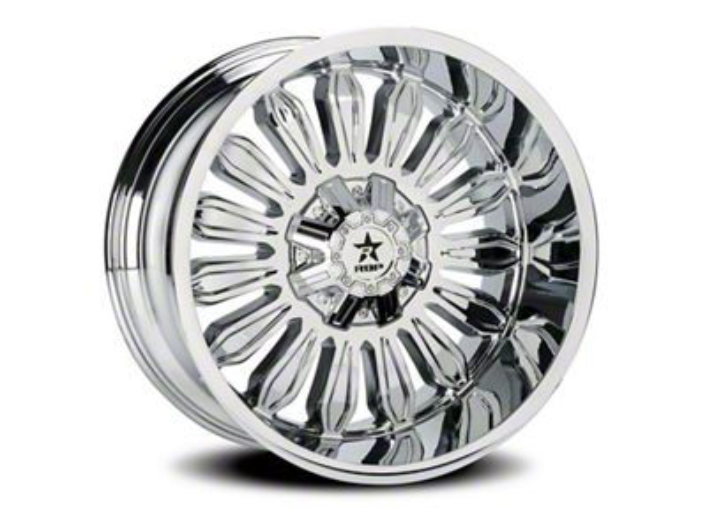 RBP 76R Roulette Chrome 6-Lug Wheel - 22x12 (07-18 Sierra 1500)