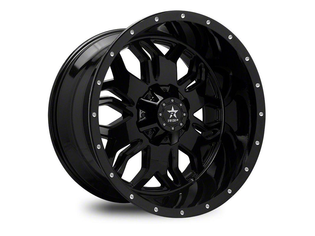 RBP 87R Blade Gloss Black 6-Lug Wheel - 22x12 (07-18 Sierra 1500)