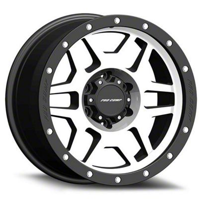 Pro Comp Phaser Machined 6-Lug Wheel - 18x9 (07-18 Sierra 1500)