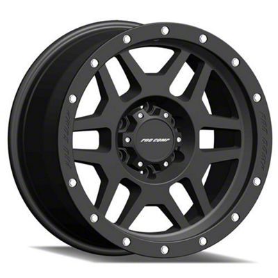 Pro Comp Phaser Satin Black 6-Lug Wheel - 18x9 (07-18 Sierra 1500)