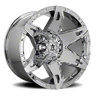 RBP 70R Quantum Chrome 6-Lug Wheel - 20x10 (07-18 Sierra 1500)