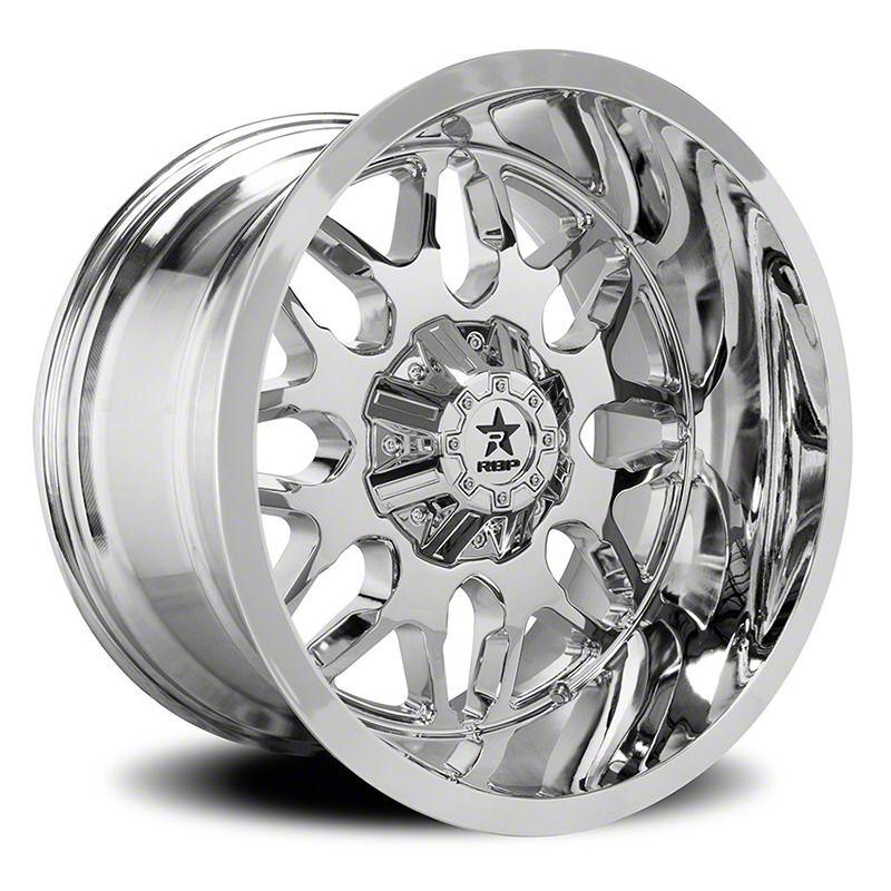 RBP 73R Atomic Chrome 6-Lug Wheel - 20x10 (07-18 Sierra 1500)