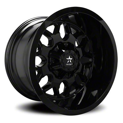 RBP 73R Atomic Gloss Black 6-Lug Wheel - 20x10 (07-18 Sierra 1500)