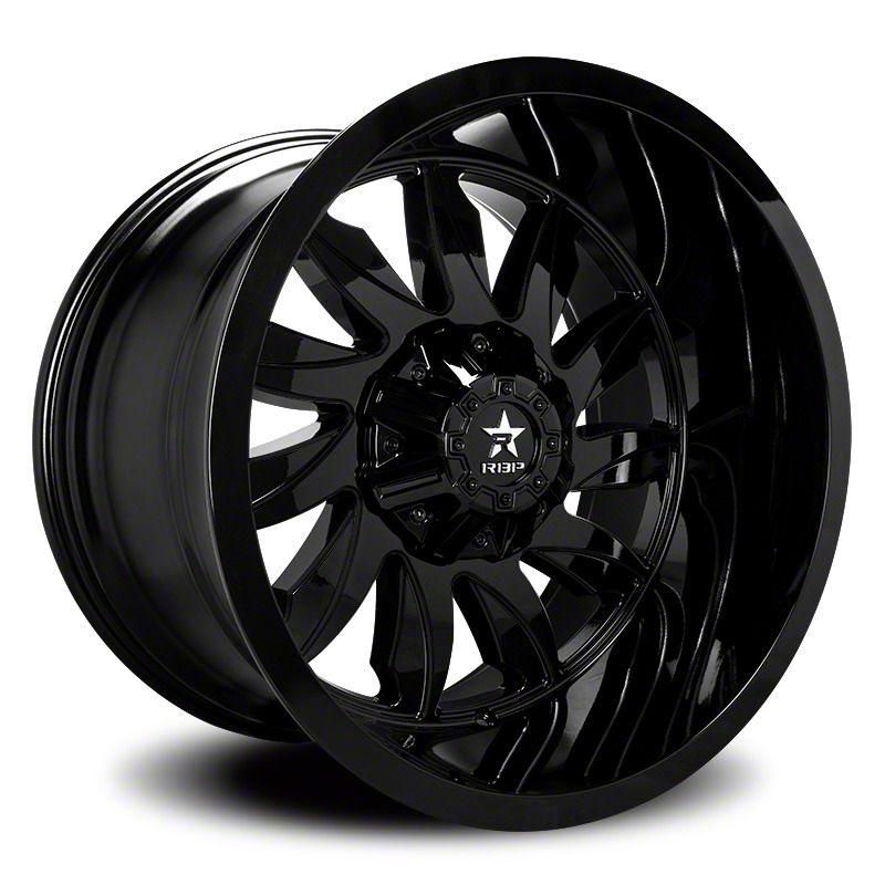 RBP 74R Silencer Gloss Black 6-Lug Wheel - 20x10 (07-18 Sierra 1500)