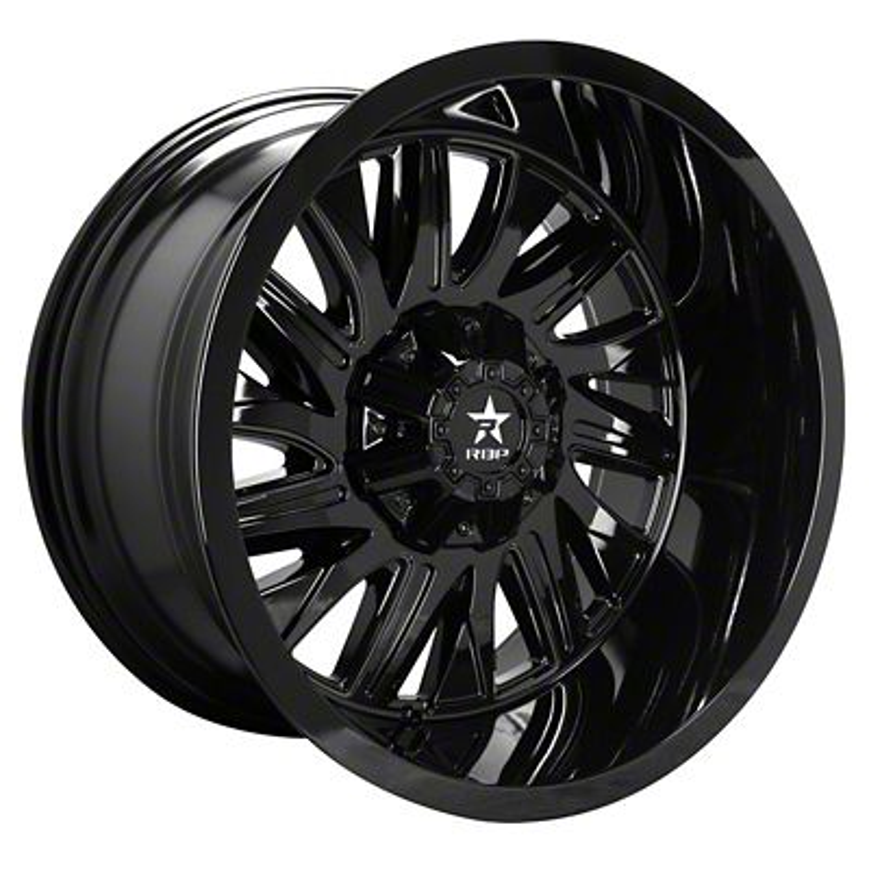 RBP 75R Batallion Gloss Black 6-Lug Wheel - 20x9 (07-18 Sierra 1500)