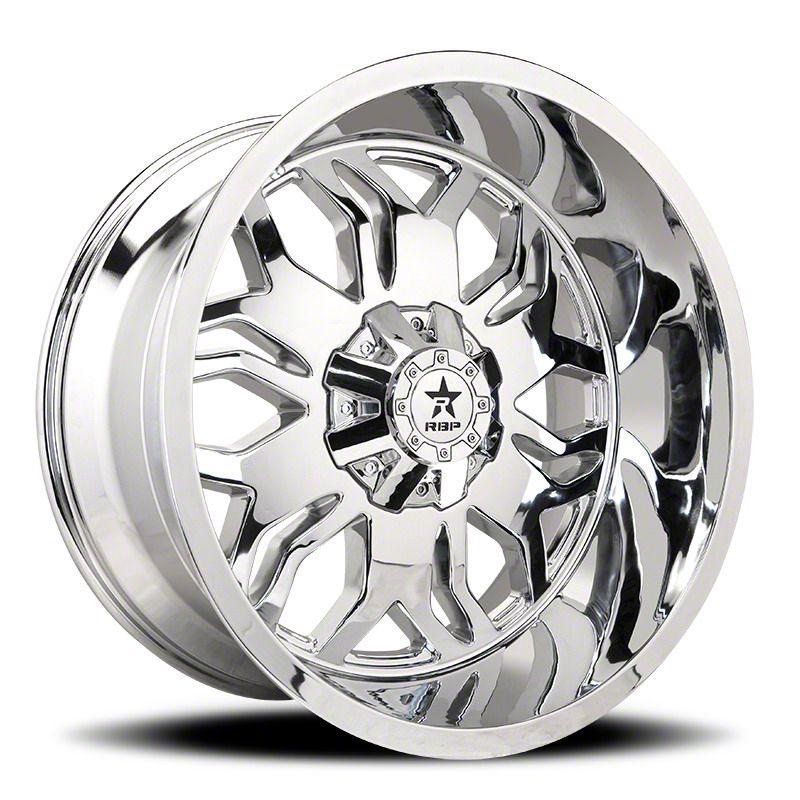 RBP 87R Blade Chrome 6-Lug Wheel - 24x12 (07-18 Sierra 1500)