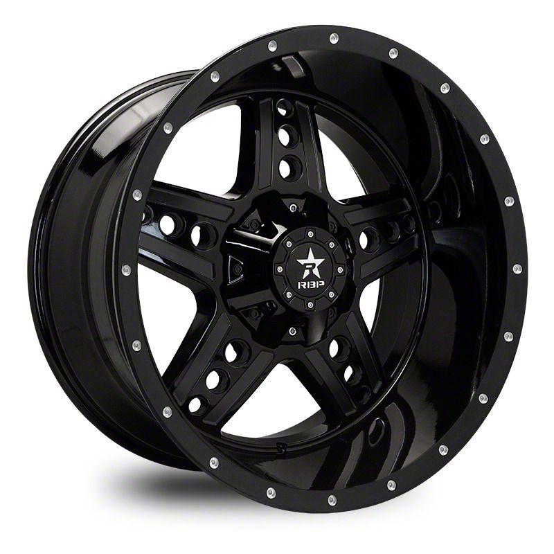 RBP 90R Colt Gloss Black 6-Lug Wheel - 20x10 (07-18 Sierra 1500)