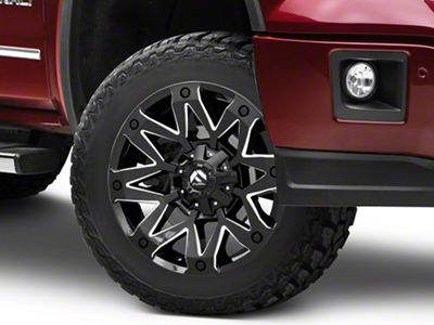 Fuel Wheels Ambush Gloss Black Milled 6-Lug Wheel - 20x10 (07-18 Sierra 1500)