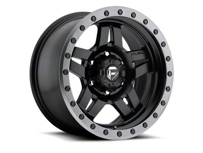 Fuel Wheels ANZA Matte Black 6-Lug Wheel - 18x9 (07-18 Sierra 1500)