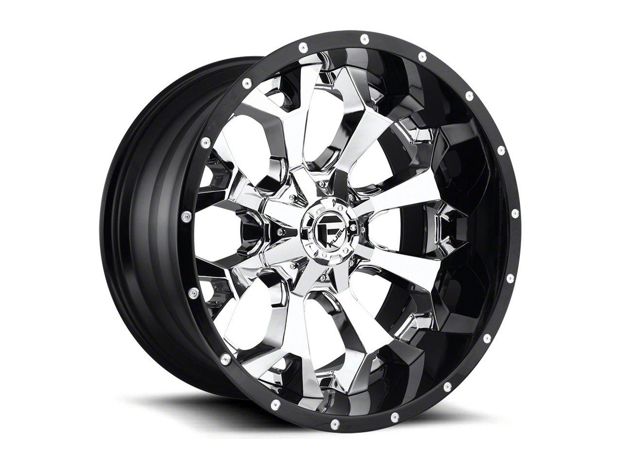 Fuel Wheels Assault Chrome 6-Lug Wheel - 20x10 (07-18 Sierra 1500)