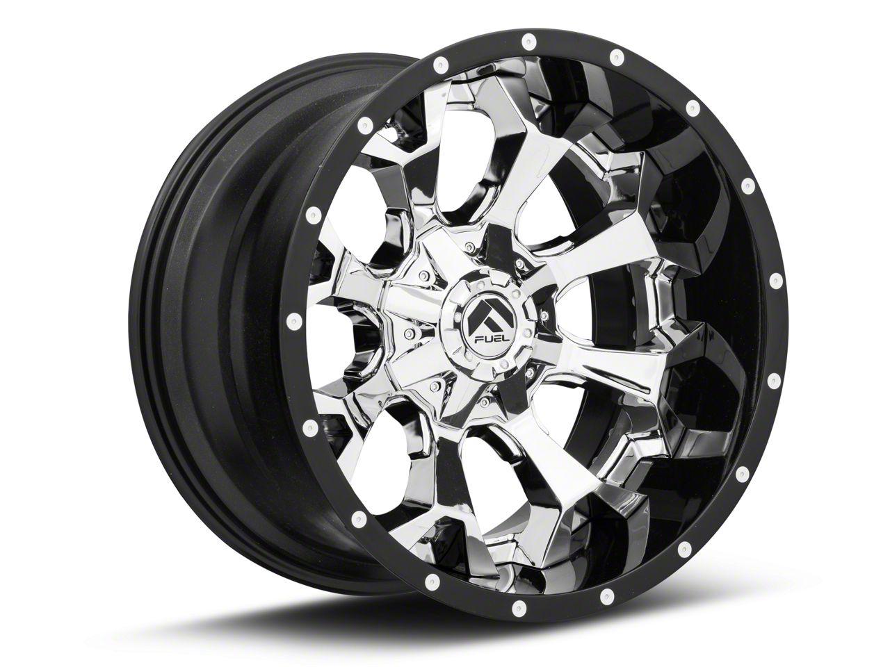 Fuel Wheels Assault Chrome 6-Lug Wheel - 20x12 (07-18 Sierra 1500)