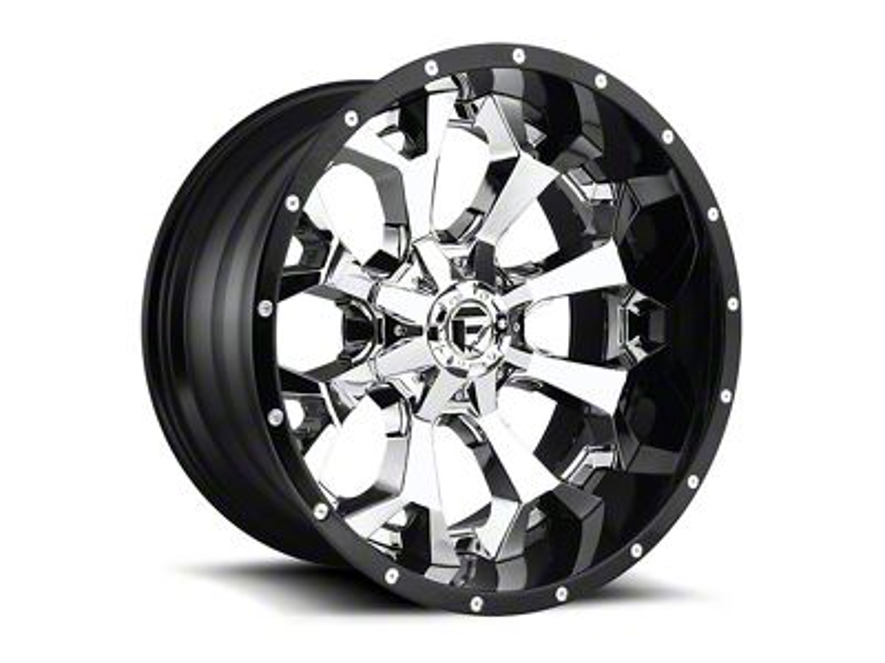Fuel Wheels Assault Chrome 6-Lug Wheel - 22x14 (07-18 Sierra 1500)