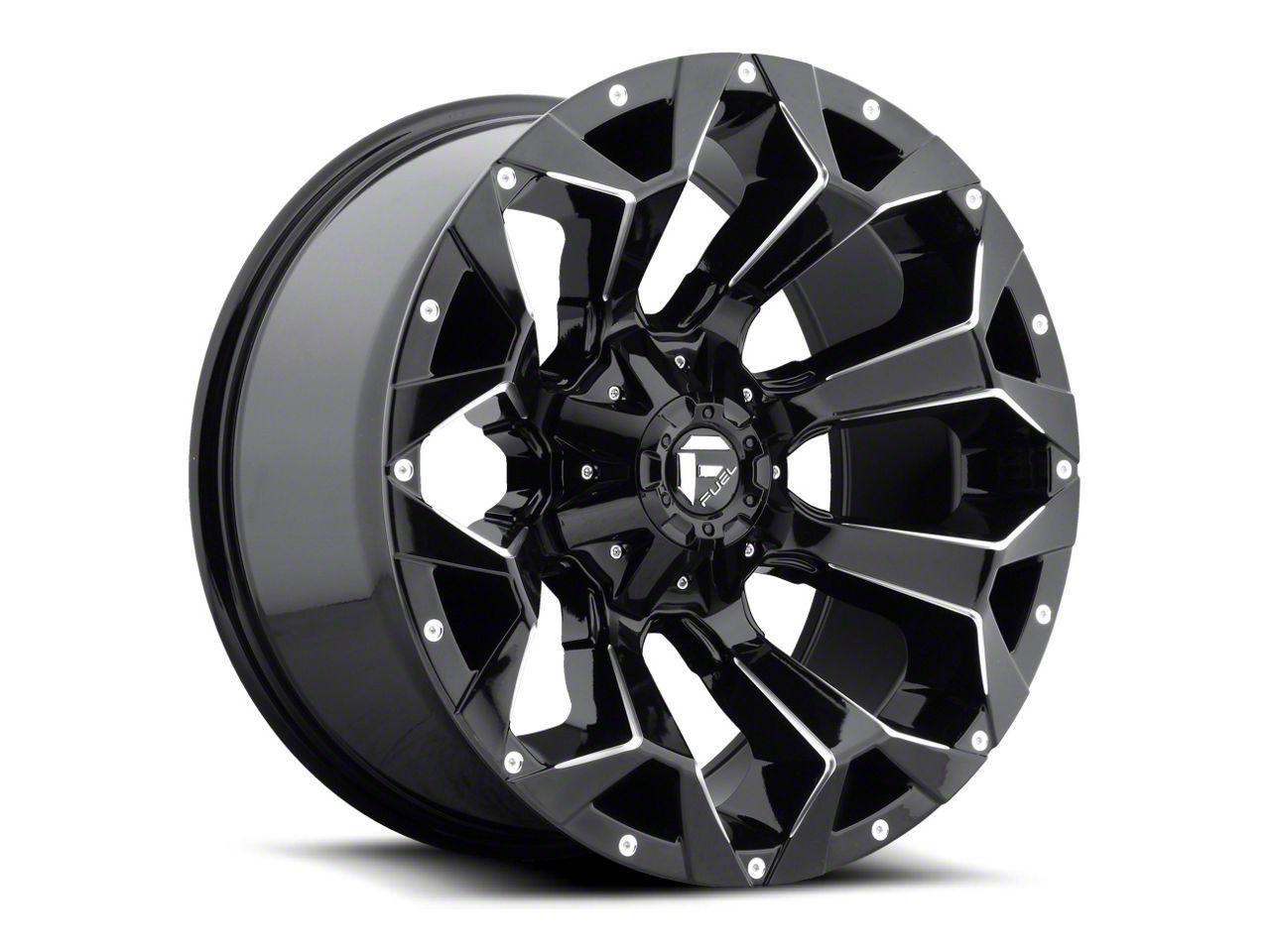 Fuel Wheels Assault Gloss Black 6-Lug Wheel - 20x10 (07-18 Sierra 1500)